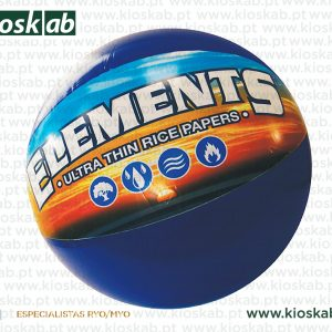 Elements Beach Ball Blue