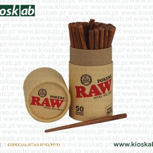 Raw Wooden Pokers Small