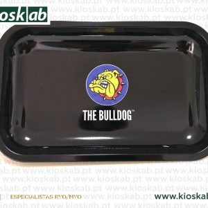 The Bulldog Metal Rolling Tray Logo Medium