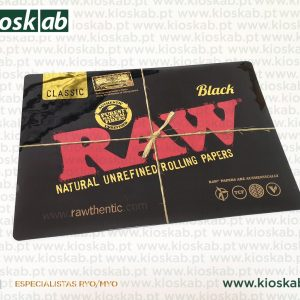 Raw Counter Mat Black