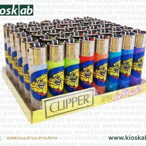 Clipper Large Decorado The Bulldog Amsterdam Transparent