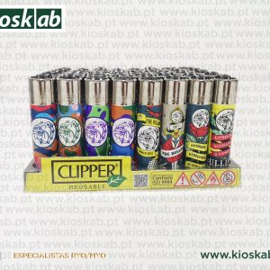 Clipper Large Decorado The Bulldog Assorted #10