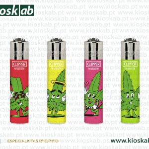 Clipper Micro Decorado Leaf People (48)