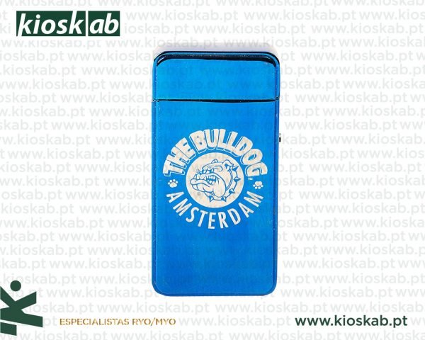 The Bulldog Amsterdam Lighter Plasma Blue