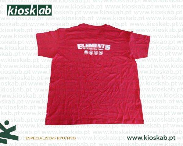 Elements T-Shirt Red S