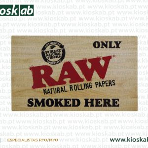 Raw Sticker Only Smoked Here