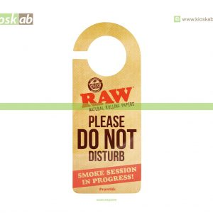 Raw Sign - Do Not Disturb