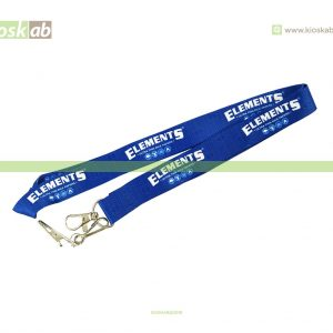 Elements Lanyard Blue